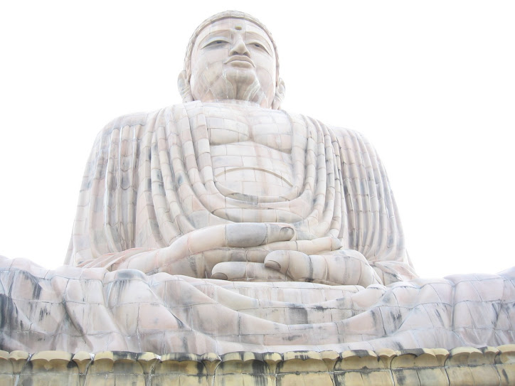 Buddha at Bodh Gaya, Bihar, India