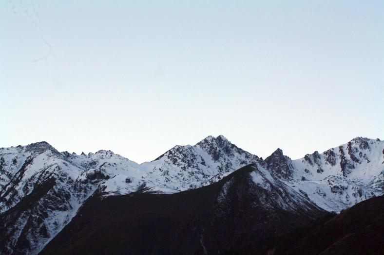 Gurudongmar, India, Sikkim, Himalayas, Feet on the map, Deepika
