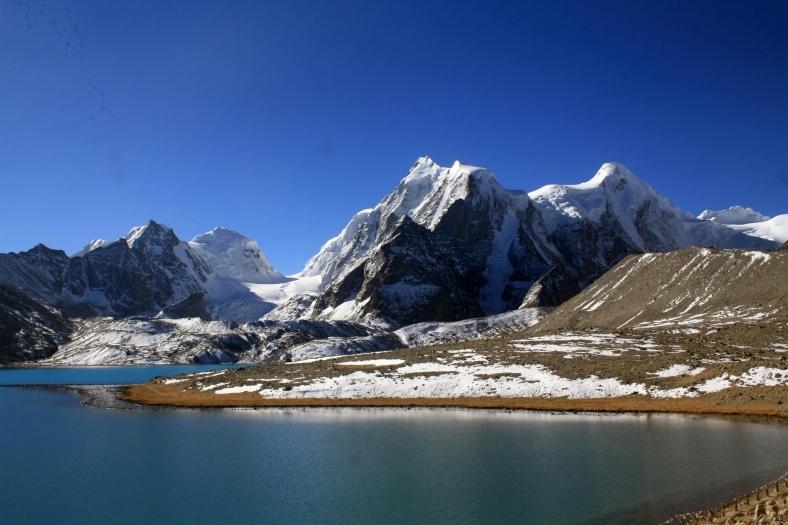 Gurudongmar, India, Sikkim,, Himalayas