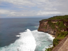 Feet on the map, Uluwatu, Bali, Deepika