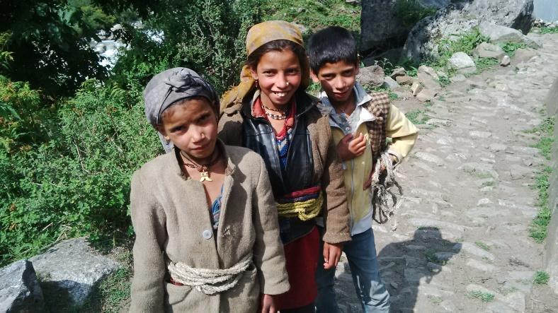 Feet on the map, Seema, Har ki Doon, trek, Himalayas, India, Deepika