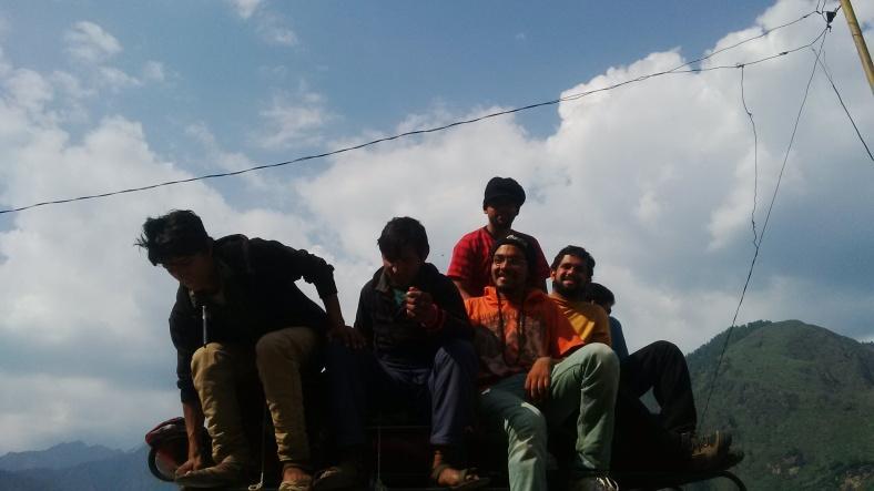 Har ki Doon, YHAI, Himalayas, India, Feet on the map, Deepika